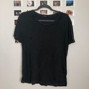 Brandy Melville Cut T-Shirt